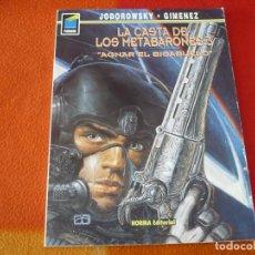 Cómics: LA CASTA DE LOS METABARONES 3 AGNAR EL BISABUELO ( JODOROWSKY GIMENEZ ) NORMA. Lote 216644777