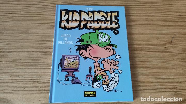 KID PADDLE 1: JUEGO DE VILLANOS, DE NORMA EDITORIAL (MIDAM) (Tebeos y Comics - Norma - Comic Europeo)