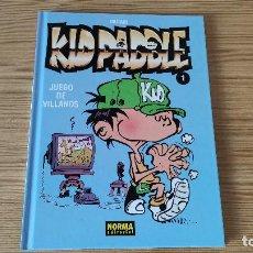 Cómics: KID PADDLE 1: JUEGO DE VILLANOS, DE NORMA EDITORIAL (MIDAM). Lote 216856262