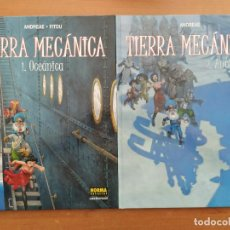 Cómics: TIERRA MECÁNICA. ANDREAE. FITOU. COLECCIÓN DE DOS TOMOS. NORMA EDITORIAL.. Lote 216903280