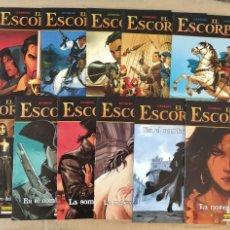 Cómics: EL ESCORPIÓN - NORMA EDITORIAL / SERIE DE 11 NÚMEROS (EXTRA COLOR). Lote 216903478