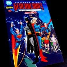 Cómics: DE KIOSCO SUPERMAN Y BATMAN GENERACIONES 4 UN CUENTO IMAGINARIO TOMO NORMA. Lote 216967795
