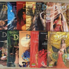 Cómics: DJINN - NORMA EDITORIAL / LOTE 12 ÁLBUMES (EXTRA COLOR). Lote 216992795