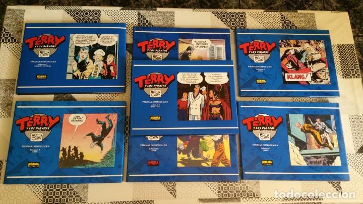 TERRY Y LOS PIRATAS TIRAS DOMINICALES VOL. 2 3 4 5 6 7 NORMA PRIMERA EDICIÓN (Tebeos y Comics - Norma - Comic USA)