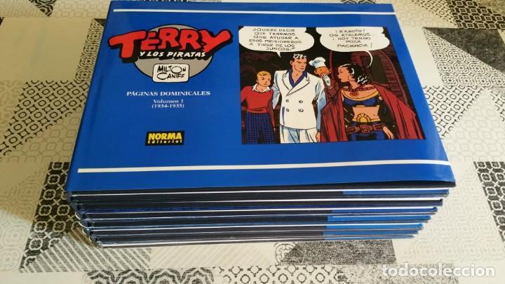 Cómics: TERRY Y LOS PIRATAS Tiras dominicales Vol. 2 3 4 5 6 7 Norma primera edición - Foto 3 - 217103135