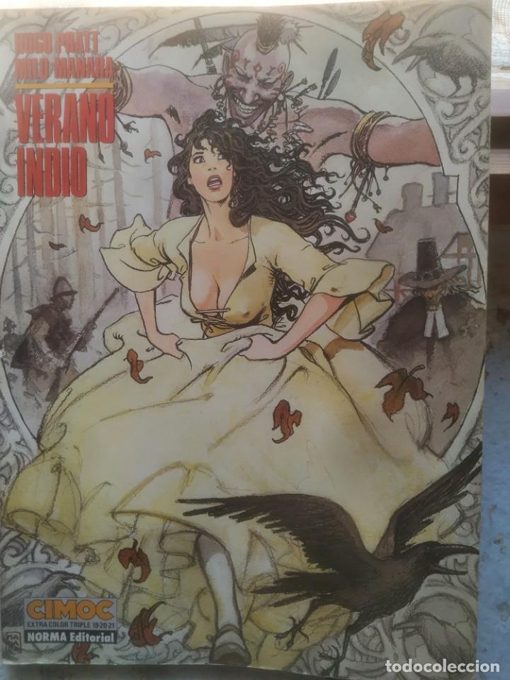 VERANO INDIO.NILO MANARA COLECCION CIMOC EXTRA COLOR Nº 019-021 , , 159 PAGINAS (Tebeos y Comics - Norma - Cimoc)