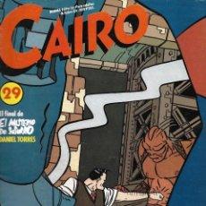 Cómics: CAIRO Nº 29. PEDIDO MÍNIMO EN CÓMICS: 4 UNIDADES. Lote 217173272