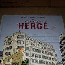 Cómics: LIBRO LES AVENTURES D'HERGÉ. BOCQUET /FROMENTAL /STANISLAS. EDITORIAL NORMA. AÑO 2011.. Lote 217190175