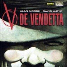 Fumetti: V DE VENDETTA (EDICIÓN NORMA). Lote 217302410