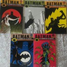 Cómics: BATMAN SEÑOR DE LA NOCHE DEL 1 AL 5. Lote 217596612