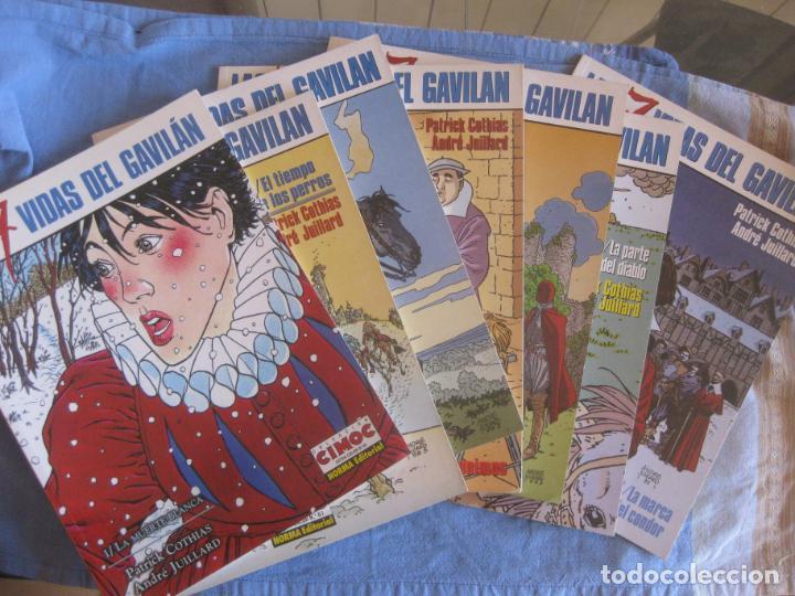 LAS 7 VIDAS DEL GAVILAN. COMPLETA DEL Nº 1 AL Nº 7. COLECCION CIMOC. NORMA EDITORIAL. (Tebeos y Comics - Norma - Cimoc)