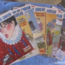 Cómics: LAS 7 VIDAS DEL GAVILAN. COMPLETA DEL Nº 1 AL Nº 7. COLECCION CIMOC. NORMA EDITORIAL.. Lote 217615882