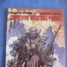 Comics : SEGURA - ORTIZ. UNA AVENTURA DEL HOMBRE. SOBREVIVE MIENTRAS PUEDAS. CIMOC Nº 107. NORMA EDITORIAL.. Lote 217616238