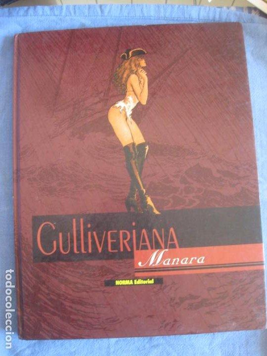 GULLIVERIANA. MANARA. NORMA EDITORIAL. EDICION ESPECIAL MARZO 1977. (Tebeos y Comics - Norma - Comic Europeo)