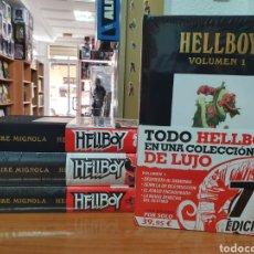 Comics : LOTE 4 TOMOS INTEGRALES HELLBOY DE MIKE MIGNOLA (COMPLETA) NORMA EDITORIAL. Lote 217698087