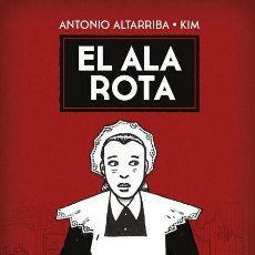 Cómics: EL ALA ROTA (ANTONIO ALTARRIBA / KIM) NORMA - CARTONE - IMPECABLE - OFI15F. Lote 217762951