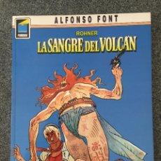 Comics: ROHNER - LA SANGRE DEL VOLCÁN - COLECCION PANDORA Nº 7 - 1ª EDICIÓN - NORMA - 1990 - ¡NUEVO!. Lote 217812385