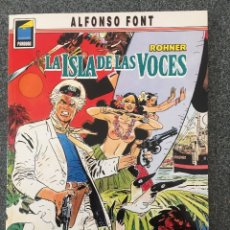 Comics: ROHNER - LA ISLA DE LAS VOCES - COLECCIÓN PANDORA Nº 29 - 1ª EDICIÓN - NORMA - 1992 - ¡NUEVO!. Lote 217848940