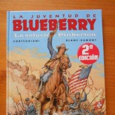 Cómics: LA JUVENTUD DE BLUEBERRY Nº 37 - LA SOLUCION PINKERTON - NORMA EDITORIAL - TAPA DURA (CO). Lote 217982117