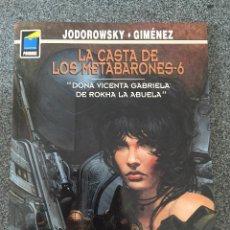 Comics: LA CASTA DE LOS METABARONES 6 DOÑA VICENTA GABRIELA DE ROKHA LA ABUELA - PANDORA 87 1ªED. NORMA 2000. Lote 218002201