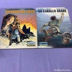 Cómics: LA ESTRELLA POLAR (1)(2). EN MEDIO DEL CIELO -- UN CABALLO ARABE --DELABY-DELLISE. NORMA. Lote 218024583