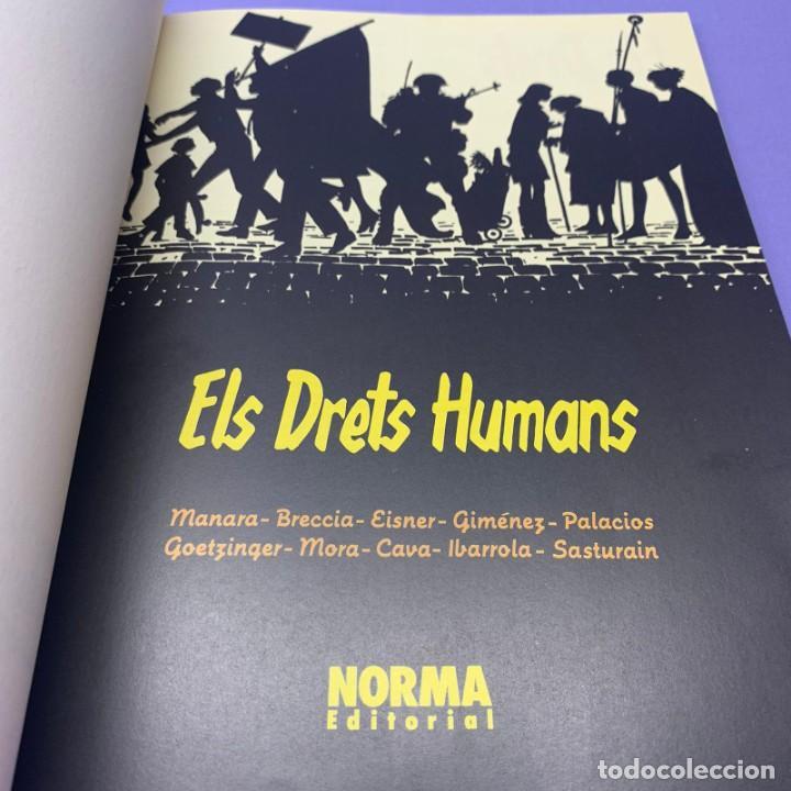 Cómics: ELS ALBUMS DE CAIRO – Nº 5 – ELS DRETS HUMANS – EN CATALA, MULTIAUTORS – 1ª ED MUY BUENO - Foto 3 - 218025863