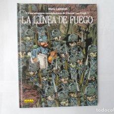 Cómics: LA LINEA DE FUEGO- TAPA DURA. Lote 218094023