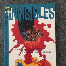 Cómics: LOS INVISIBLES - MONSTRUOS REALES - COLECCIÓN VERTIGO Nº 189 - NORMA - 2001 - ¡NUEVO!. Lote 218097070