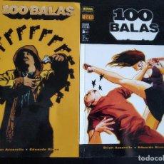 Cómics: COMICS 100 BALAS - COLGANDO DE UN HILO - CASI COMPLETA - NÚMEROS 1 Y 2 (DE 3). Lote 218166236