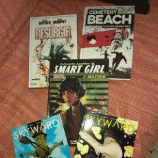Cómics: LOTE DE COMICS TOMOS IMAGE VERTIGO CEMETERY BEACH EL RESURGIR SKYWARD SMART GIRL NORMA PANINI ECC. Lote 218169471