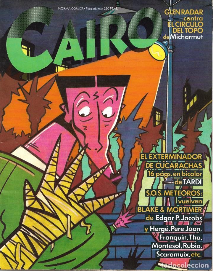 CAIRO Nº 19. PEDIDO MÍNIMO EN CÓMICS: 4 TÍTULOS (Tebeos y Comics - Norma - Cairo)