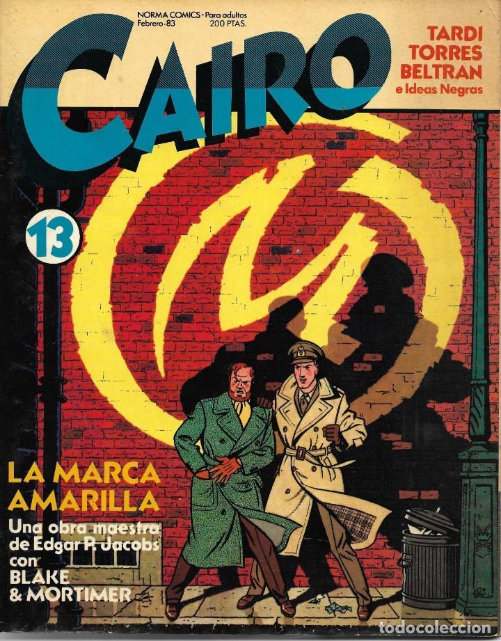 CAIRO Nº 13. PEDIDO MÍNIMO EN CÓMICS: 4 TÍTULOS (Tebeos y Comics - Norma - Cairo)