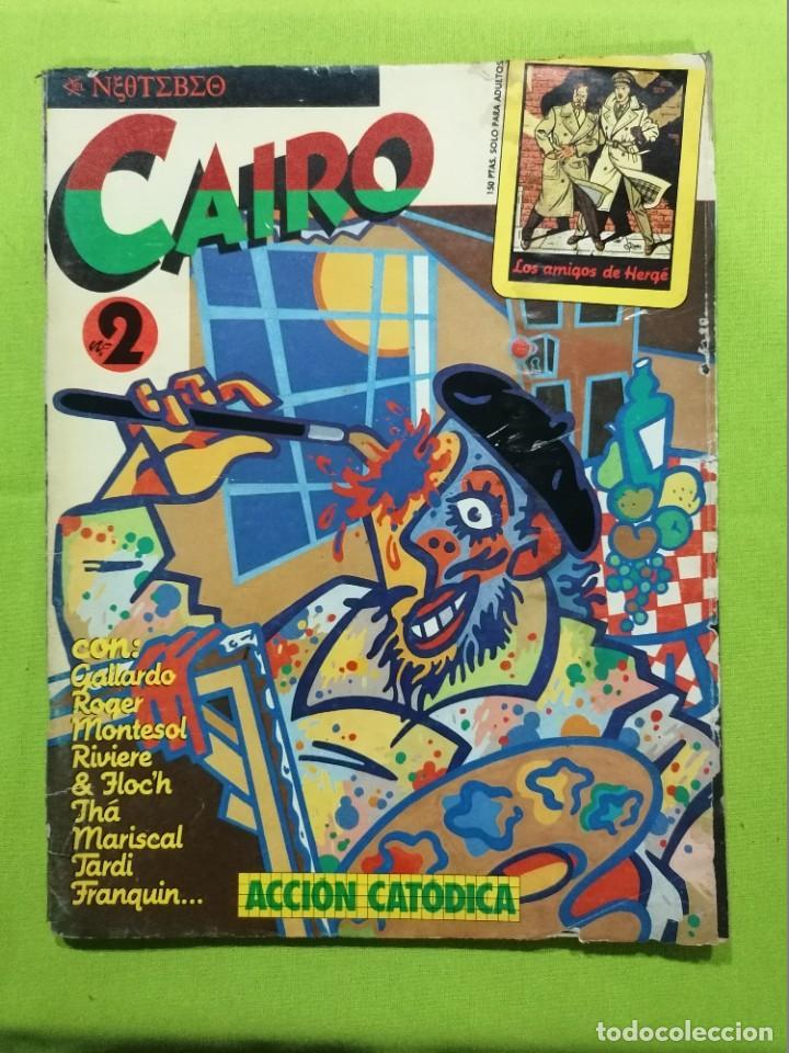 CAIRO Nº 2 ** ACCION CATODICA ** NORMA (Tebeos y Comics - Norma - Cairo)