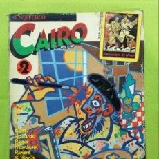 Cómics: CAIRO Nº 2 ** ACCION CATODICA ** NORMA. Lote 218275308