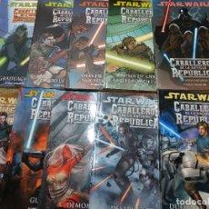 Cómics: COMICS STAR WARS - CABALLEROS DE LA ANTIGUA REPÚBLICA - COMPLETA 10 TOMOS. Lote 218320897