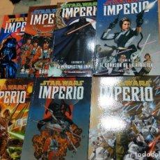 Cómics: COMICS STAR WARS - IMPERIO - COLECCIÓN COMPLETA 7 TOMOS. Lote 218323518