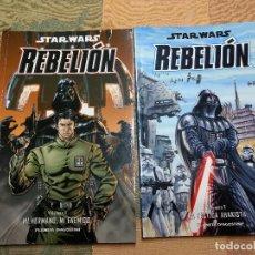 Cómics: STAR WARS: STAR WARS REBELION TOMOS 1 Y 2. Lote 218324831