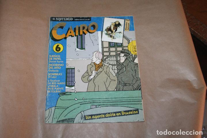 CAIRO Nº 6, NORMA EDITORIAL (Tebeos y Comics - Norma - Cairo)