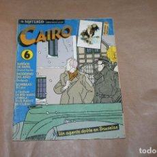Cómics: CAIRO Nº 6, NORMA EDITORIAL. Lote 218403150