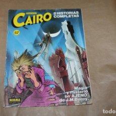 Cómics: CAIRO Nº 57, NORMA EDITORIAL. Lote 218403218