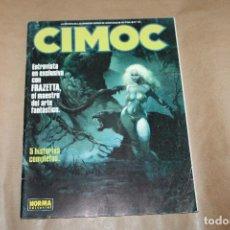 Cómics: CIMOC Nº 121, NORMA EDITORIAL. Lote 218406057