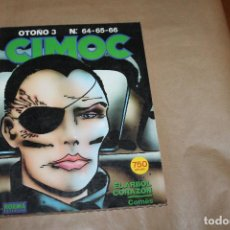 Cómics: CIMOC OTOÑO Nº 64-65-66, NORMA EDITORIAL. Lote 218407033