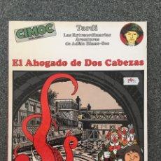 Cómics: EL AHOGADO DE DOS CABEZAS - TARDI - CIMOC EXTRA COLOR 13 - NORMA - 1985 - ¡COMO NUEVO!. Lote 218419361