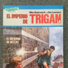 Cómics: EL IMPERIO DE TRIGAN 4 - EL INFIERNO DE HELLAS - CIMOC EXTRA COLOR 14 - NORMA - 1986 - ¡NUEVO!. Lote 218419960