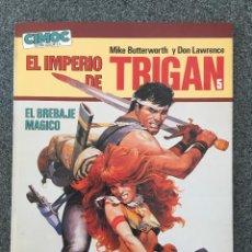 Cómics: EL IMPERIO DE TRIGAN 5 - EL BREBAJE MÁGICO - CIMOC EXTRA COLOR 15 - NORMA - 1986 - ¡NUEVO!. Lote 218420365
