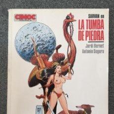 Cómics: SARVAN - LA TUMBA DE PIEDRA - CIMOC EXTRA COLOR 18 - NORMA - 1986 - ¡BUEN ESTADO!. Lote 218422108