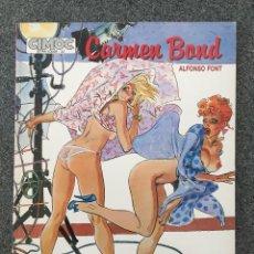 Cómics: CARMEN BOND - ALFONSO FONT - CIMOC EXTRA COLOR 22 - NORMA - 1986 - ¡COMO NUEVO!. Lote 218424333