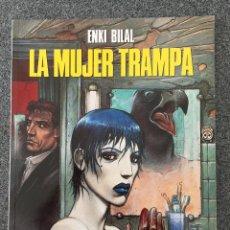 Cómics: LA MUJER TRAMPA - ENKI BILAL - CIMOC EXTRA COLOR 23 - NORMA - 1993 - ¡NUEVO!. Lote 218425097
