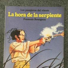 Cómics: LOS PASAJEROS DEL VIENTO - LA HORA DE LA SERPIENTE - CIMOC EXTRA COLOR 24 - NORMA - 1986 - ¡NUEVO!. Lote 218425671