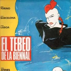 Cómics: EL TEBEO DE LA BIENNAL- Nº 1 -MAX-GALLARDO-MIQUE-PADU-DE FELIPE-1985--BUENO-DIFÍCIL-LEA-3756. Lote 218423828